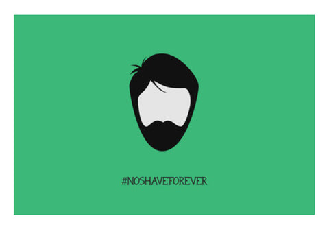The Beard Wall Art  | Artist : Arpita Gogoi
