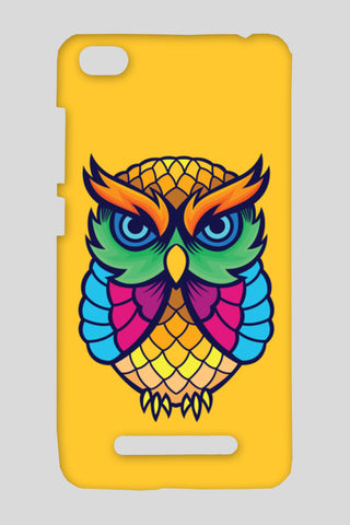 Colorful Owl Redmi 4A Cases | Artist : Inderpreet Singh