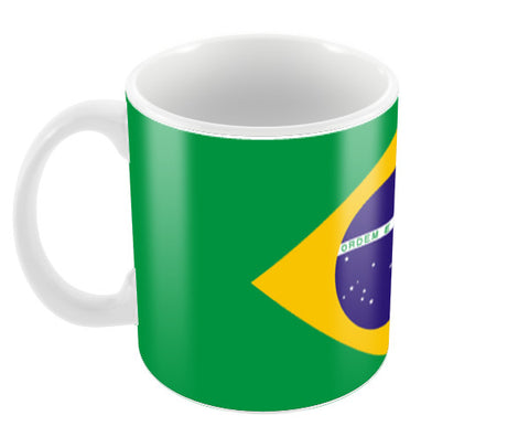 Brazil | #Footballfan Coffee Mugs | Artist : Creative DJ