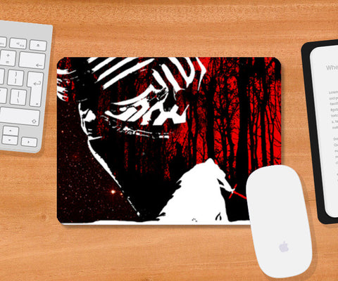 Mousepad, KYLO REN MINIMAL ARTWORK mousepad from STAR WARS :THE FORCE AWAKENS  Mousepad | Artist : Raikchak Reang, - PosterGully