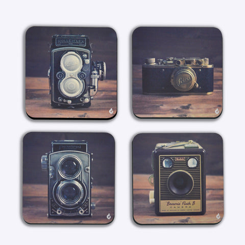 Coasters, Vintage Cameras  - Coasters, - PosterGully