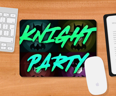 Mousepad, Knight Party Mousepad | Artist : Jax D, - PosterGully