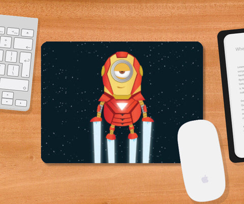 Mousepad, Minion Ironman Mousepad | Artist : Ronak Mantri, - PosterGully