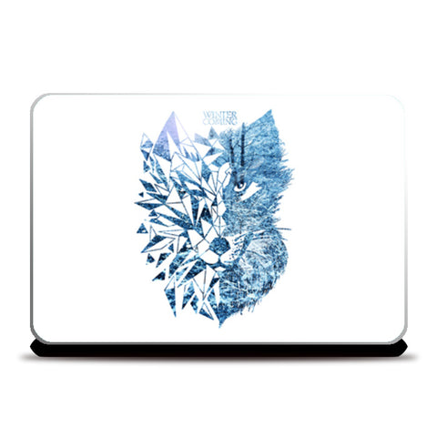 Game Of Thrones | Wolf Laptop Skins | Artist : Pragya Bhandari