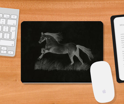 Black Beauty Mousepad | Artist : Saswata Das