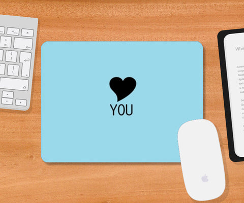 LOVE you Mousepad | Artist : ashman's