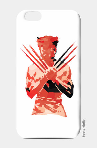 iPhone 6 / 6s, Low Poly Wolverine 2-Colored iPhone 6 / 6s Case | Artist: Darshan Gajara, - PosterGully