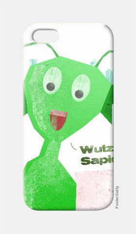 iPhone 5 Cases, Martian  Wutz Up Sapiens iPhone 5 Case | Artist: Sanket R, - PosterGully