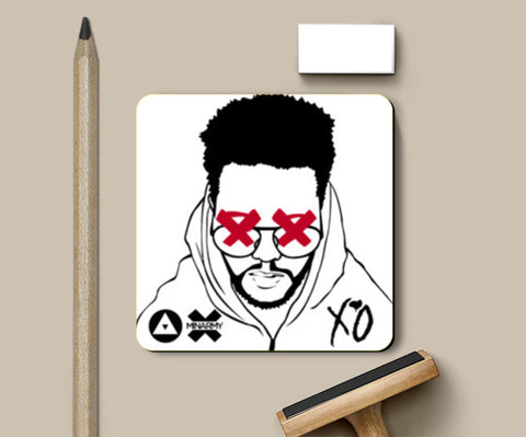THE WEEKND Coasters | Artist : Naman Kapoor