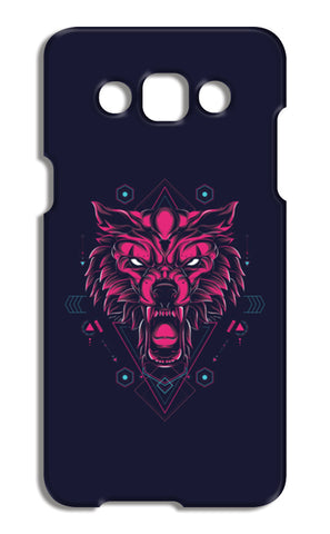 The Wolf Samsung Galaxy A5 Cases | Artist : Inderpreet Singh