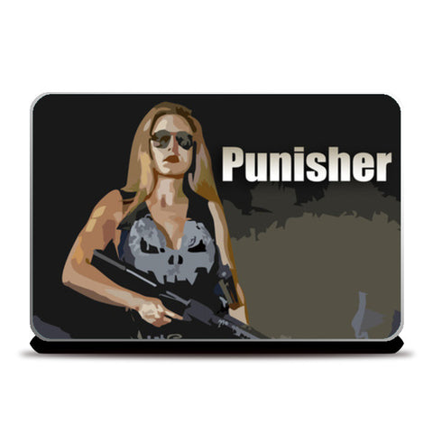 Punisher Laptop Skins | Artist : Delusion