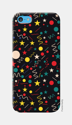 Seamless abstract pattern with geometric shapes iPhone 5c Cases | Artist : Designerchennai