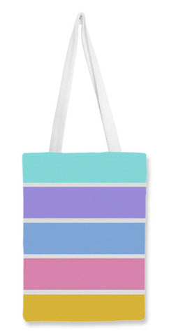 Tote Bags, Childhood colors : Simple Pastel Tote Bags | Artist : Shreya Agarwal, - PosterGully