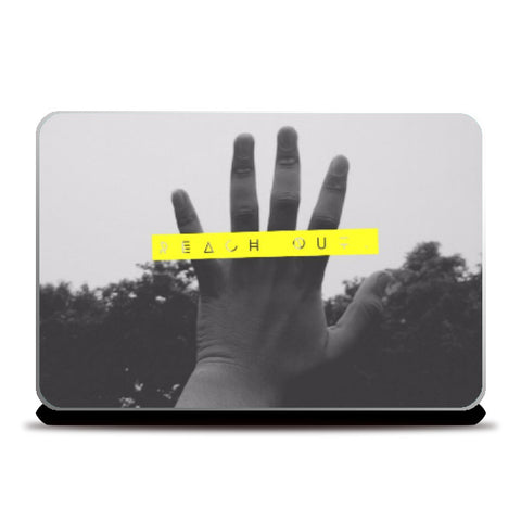 Laptop Skins, Reach Out Laptop Skin | Artist: Siddhant Talwar, - PosterGully