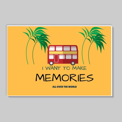 Travel memories Stick Ons | Artist : Pallavi Rawal