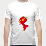 The Flash, Aam Admi, Cool T-shirt Men T Shirts | Artist : Nihal Dad Khan