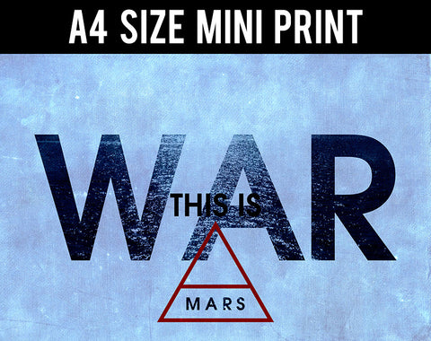 Mini Prints, 30 Second To Mars | War | Mini Print, - PosterGully