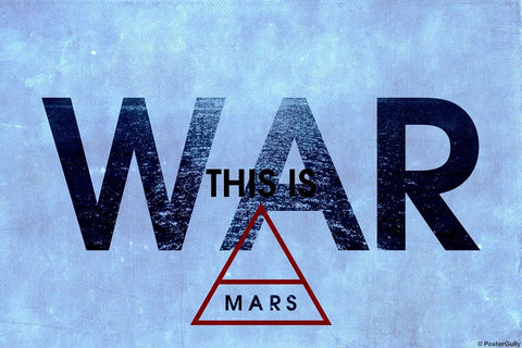 Wall Art, 30 Second To Mars | War, - PosterGully