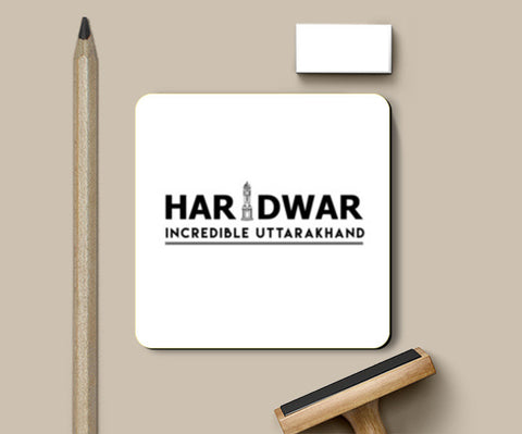 Haridwar Incredible Uttarakhand Coasters | Artist : Tripund Media Works