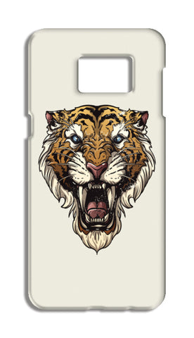Saber Toothed Tiger Samsung Galaxy S6 Edge Plus Cases | Artist : Inderpreet Singh