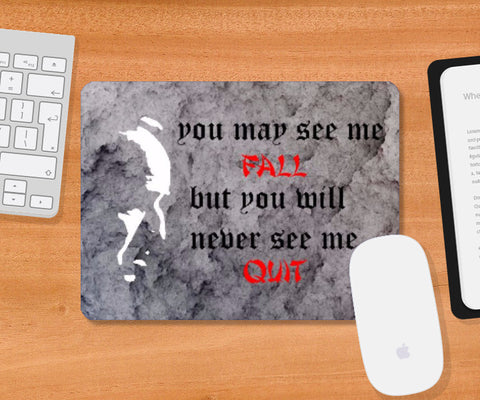Mousepad, Motivational quote Mousepad | Shivansh Budakoti, - PosterGully