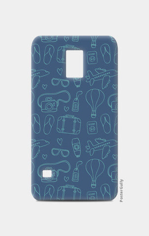 Sketchy Travel  Samsung S5 Cases | Artist : Colour me expressive