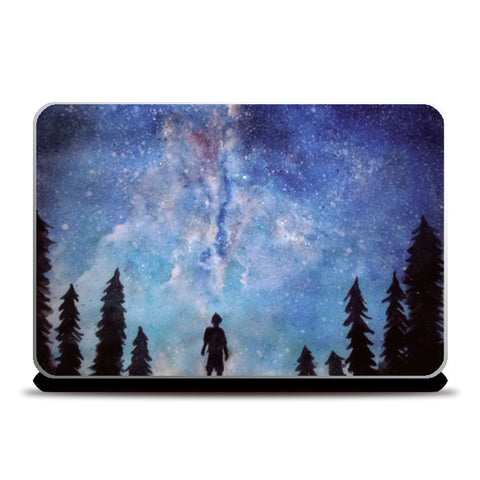 Laptop Skins, A quiet darkness Laptop Skins | Artist : Sukanya Chakraborty, - PosterGully