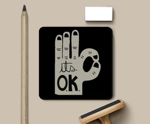 It's OK! Coasters | Artist : Sharmila Dutta