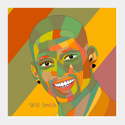 Will Smith Square Art Prints PosterGully Specials
