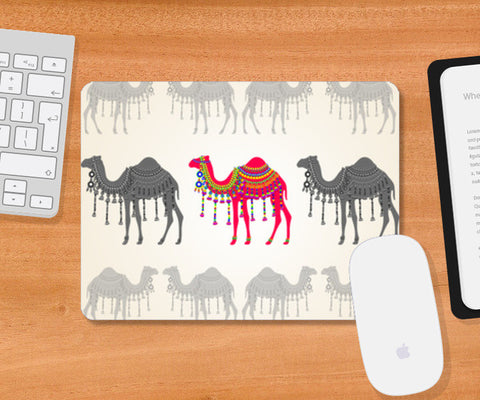Rajasthani Decorated Camel Mousepad | Artist : Rameshwar Chawla