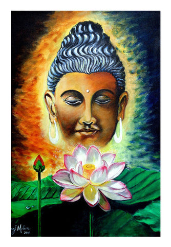Lord Buddha Art PosterGully Specials