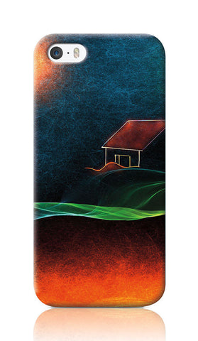 iPhone Cases, River Of Fire iPhone 5/5S Case | Artist: Devraj Baruah, - PosterGully