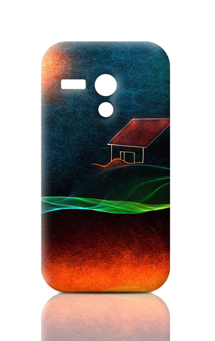 Moto G Cases, River Of Fire Moto G Case | Artist: Devraj Baruah, - PosterGully