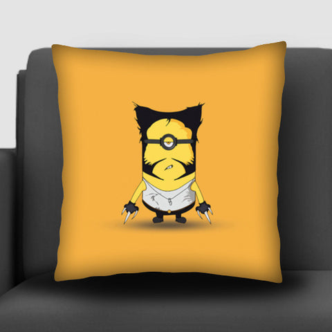 minion wolverine cusion cover Cushion Covers | Artist : Nihal Dad Khan