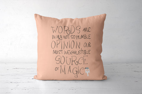 Harry Potter Quote Cushion Covers | Artist : saurabhzuve