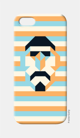 iPhone 5 Cases, Mosaic Figure iPhone 5 Case | Artist: Arimit Bhattacharya, - PosterGully