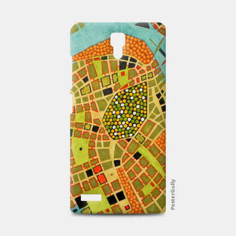 Redmi Note Cases, imaginary map of Koblenz Redmi Note Cases | Artist : federico cortese, - PosterGully