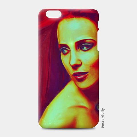 Lady In Red iPhone 6 Plus/6S Plus Cases | Artist : Delusion