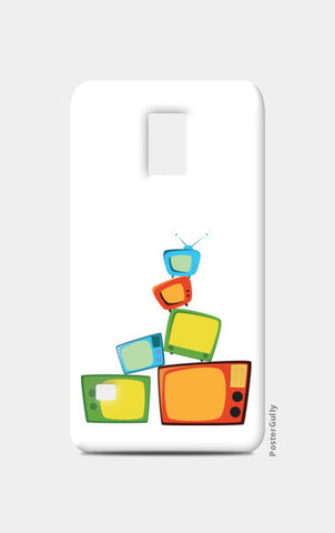 TV time Samsung S5 Cases | Artist : Juergen Dsouza
