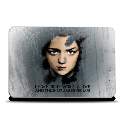 Game of Thrones | Arya Stark |  Laptop Skins | Artist : Vivid Corner