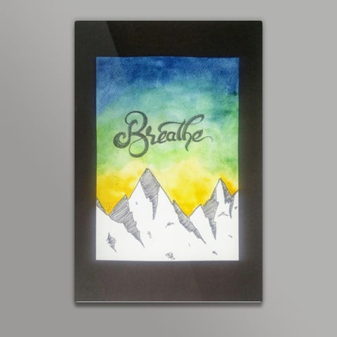Breathe Metal Prints | Artist : Suchitra A D