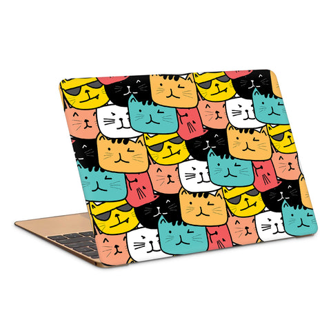 Cats Pop Art Laptop Skin