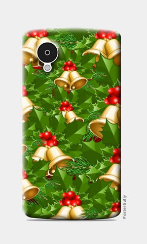 Nexus 5 Cases, Christmas Jingle Bells |  Nexus 5 Cases | Artist : Nikhil Wad, - PosterGully