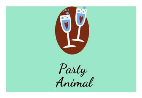 Party Animal Wall Art  | Artist : Pallavi Rawal