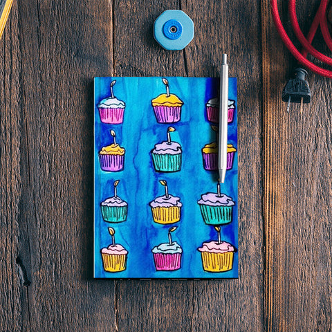 Cupcakes Notebook | Artist : Priyanka Paul