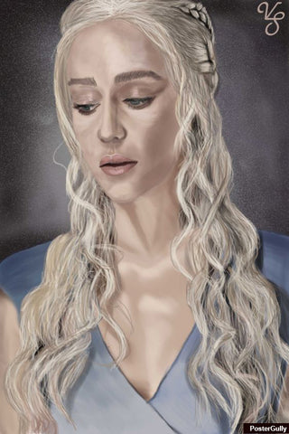 Wall Art, Khaleesi Artwork | Artist: Vanisha Sadhwani, - PosterGully