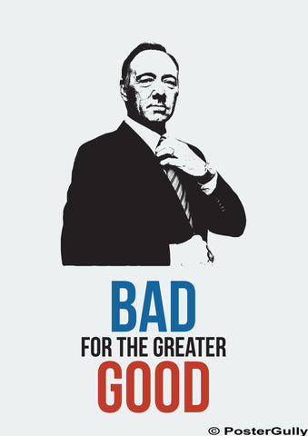 Brand New Designs, House of Cards Good & Bad Artwork | Artist: Rohit Malhotra, - PosterGully - 1