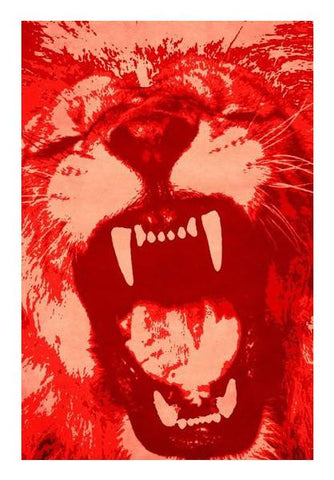 PosterGully Specials, Hear me roar Wall Art | Artist : Durro Art | PosterGully Specials, - PosterGully