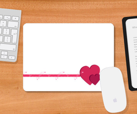 Mousepad, Feel My Love (white) Mousepad | Artist : Srikanth R, - PosterGully