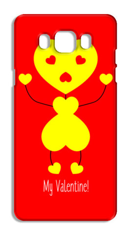 Bee My Valentine Samsung Galaxy J7 2016 Cases | Artist : Designerchennai